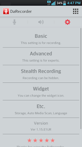 High Quality Voice Recorder v2.7.G81R Patched