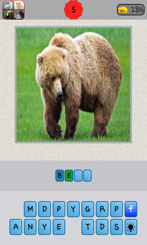 Animals Quiz- screenshot