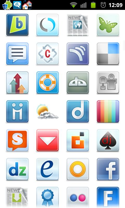 Icon App 2 Folder Organizer - screenshot