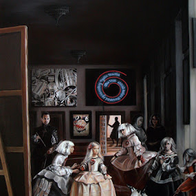 Las Meninas Interpretation  by Alexandru Racu - Painting All Painting
