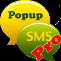 Popup SMS Pro. logo