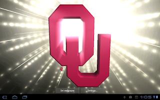 Screenshot of Oklahoma Sooners LWPs & Tone
