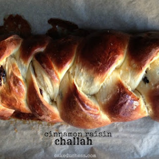 Cinnamon Raisin Challah