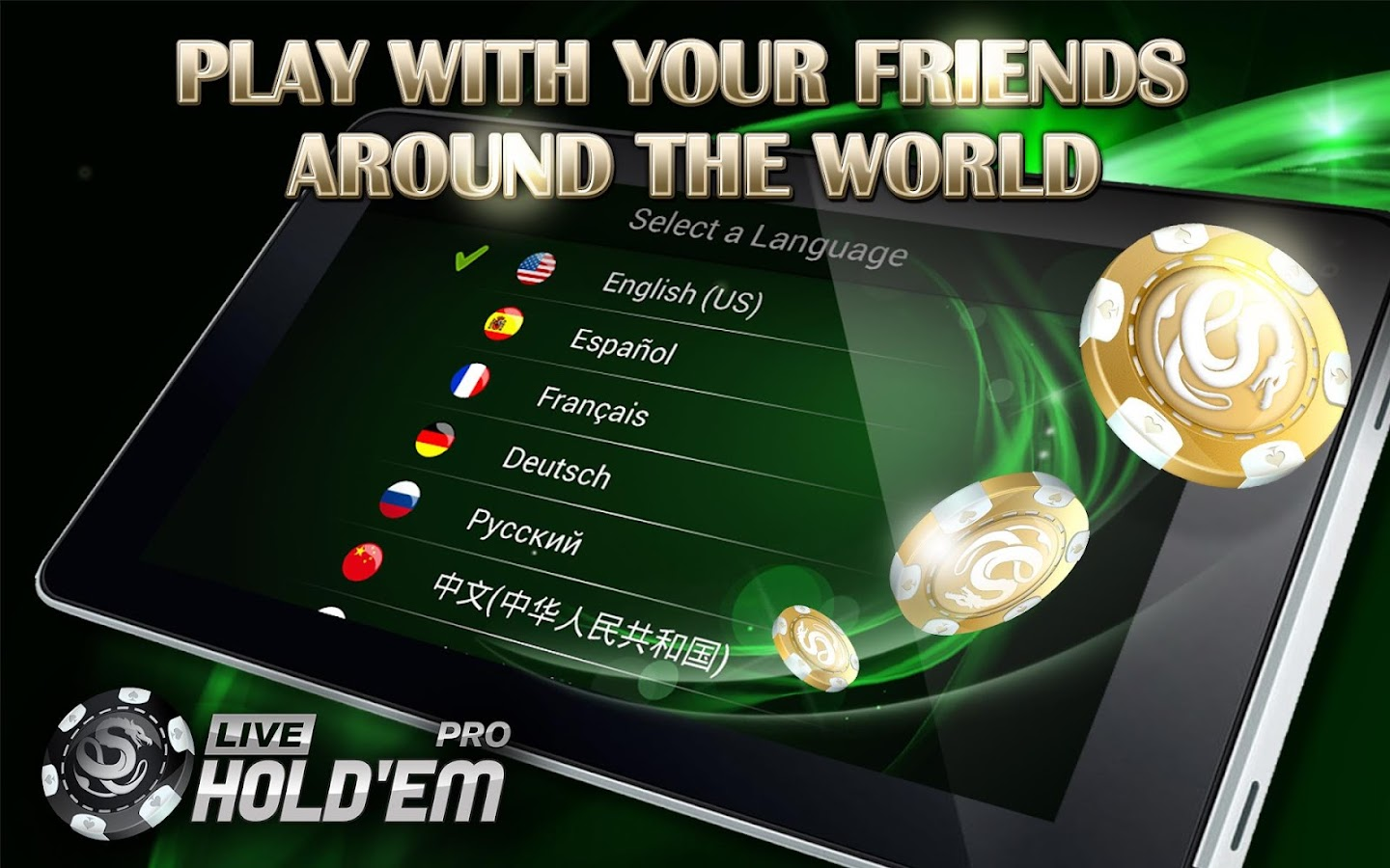 Live Texas Holdem Poker Pro - screenshot