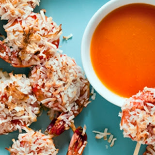 Coconut Shrimp with Spicy Orange Dipping Sauce.