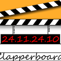 Clapperboard / Clapboard icon