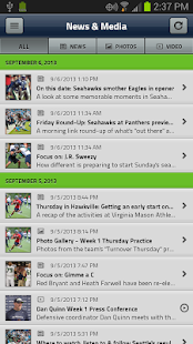 Seattle Seahawks Mobile - screenshot thumbnail