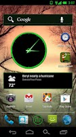 Screenshot of CM10 / AOKP : Holo Mint Green