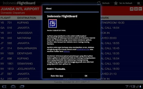 Indonesia FlightBoard- screenshot thumbnail