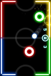 Glow Hockey- screenshot thumbnail