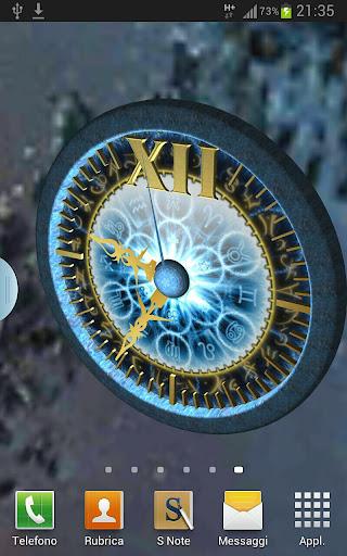 Zodiac Clock HD 3D LWP