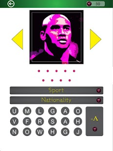 Famous Athletes PopArt Quiz- screenshot thumbnail