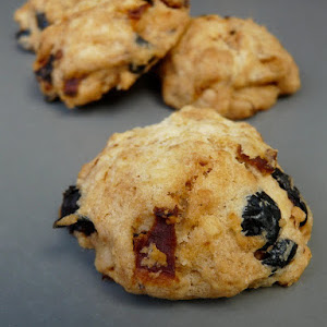 Candied Tomato, Olive, and Pine Nut Cookies