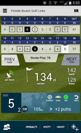 Golf GPS Rangefinder: Golf Pad 11.17 screenshot 351874