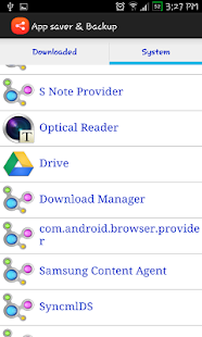 AppSaver and Backup APK for Blackberry   Download Android APK GAMES