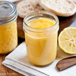 Clean Eating Lemon Curd