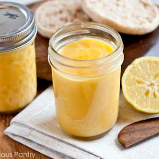 Clean Eating Lemon Curd.