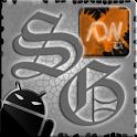 ADW Theme SkullGray logo