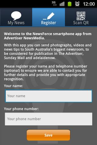 NewsForce - screenshot