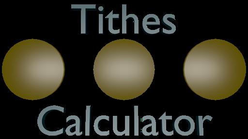 Tithes Calculator