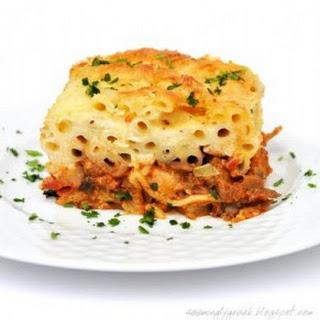Vegetarian Pastitsio Recipe