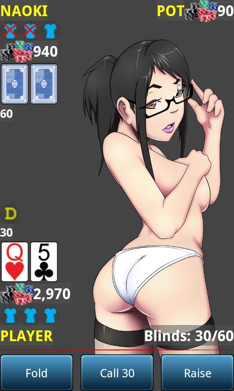 Anime Strip Poker Demo - screenshot