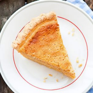 Buttermilk Chess Pie with Meyer Lemon