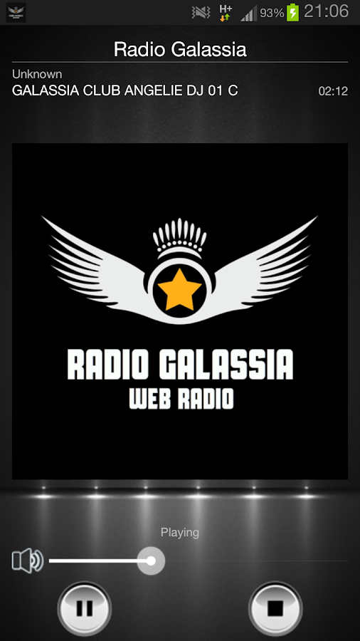 Radio Galassia - screenshot
