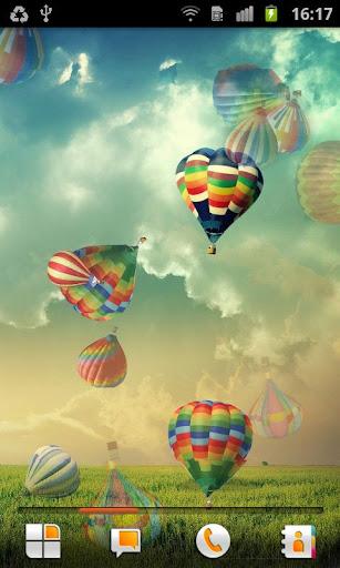 热气球 动态壁纸