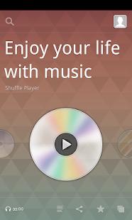 Shuffle Player MP3 music