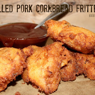 ~Pulled Pork Cornbread Fritters!