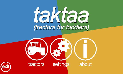 Tractors for toddlers