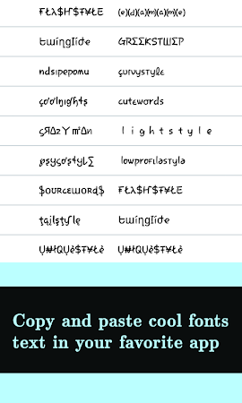 Cool Fonts for Whatsapp & SMS 2.0 screenshot 227826