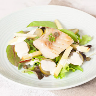 Cod And Apple Salad.