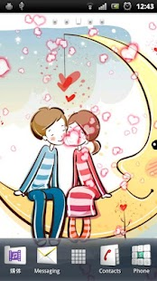 Valentine Live Wallpaper Screenshot 2
