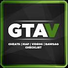 Map & Cheats for GTA V icon