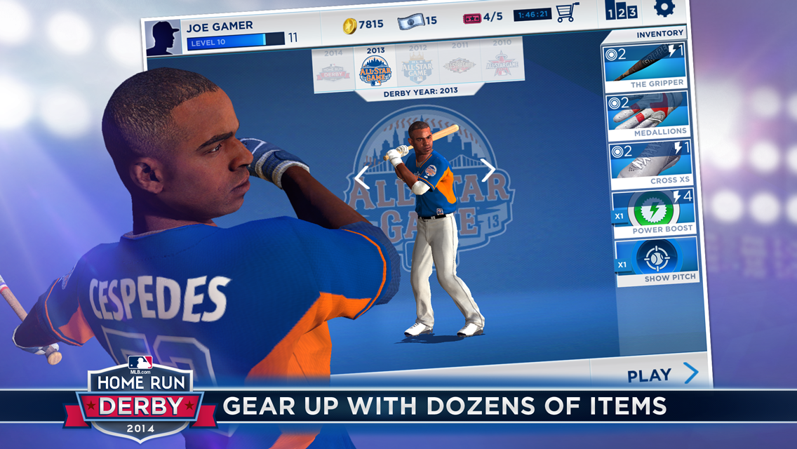 MLB.com Home Run Derby 14 - screenshot
