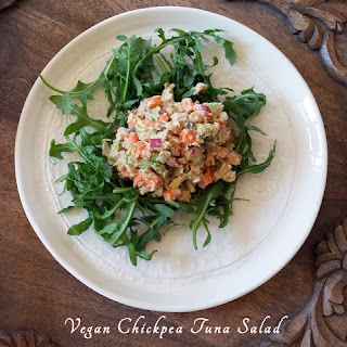 Vegan Chickpea Tuna Salad