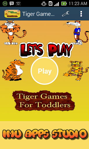 Tiger Games For Toddlers