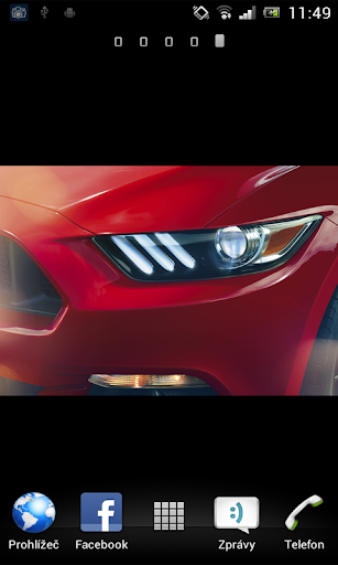 Mustang 2015 Live Wallpaper