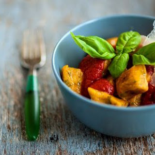 Sweet Potato Gnocchi with Tomato Sauce Recipe