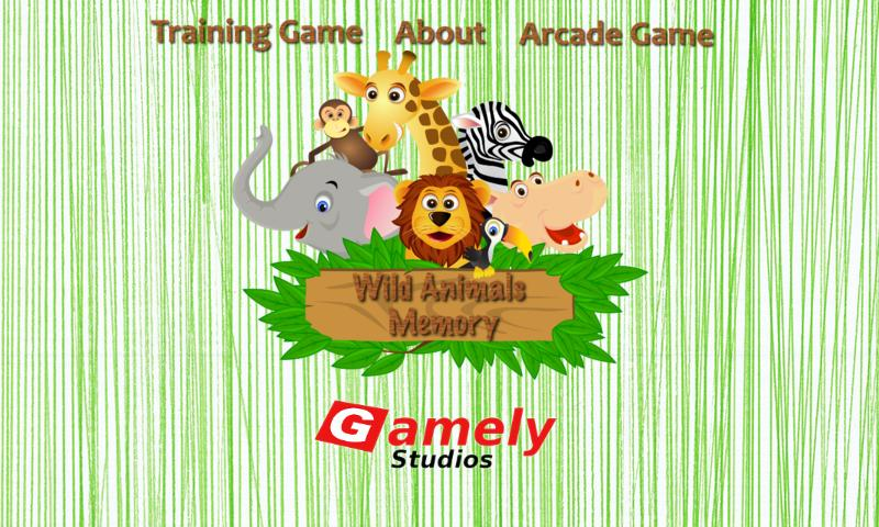 Wild Animals Memory Free- screenshot
