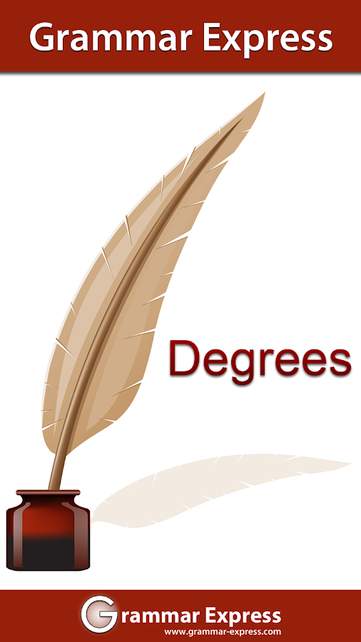 Grammar Express : Degrees - screenshot