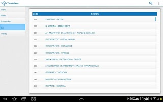 Screenshot of OptiTrans
