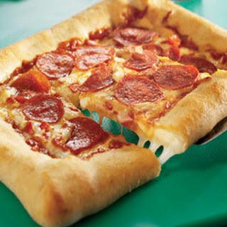 Stuffed Crust Pizza.