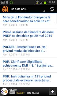 Fonduri Europene- screenshot thumbnail
