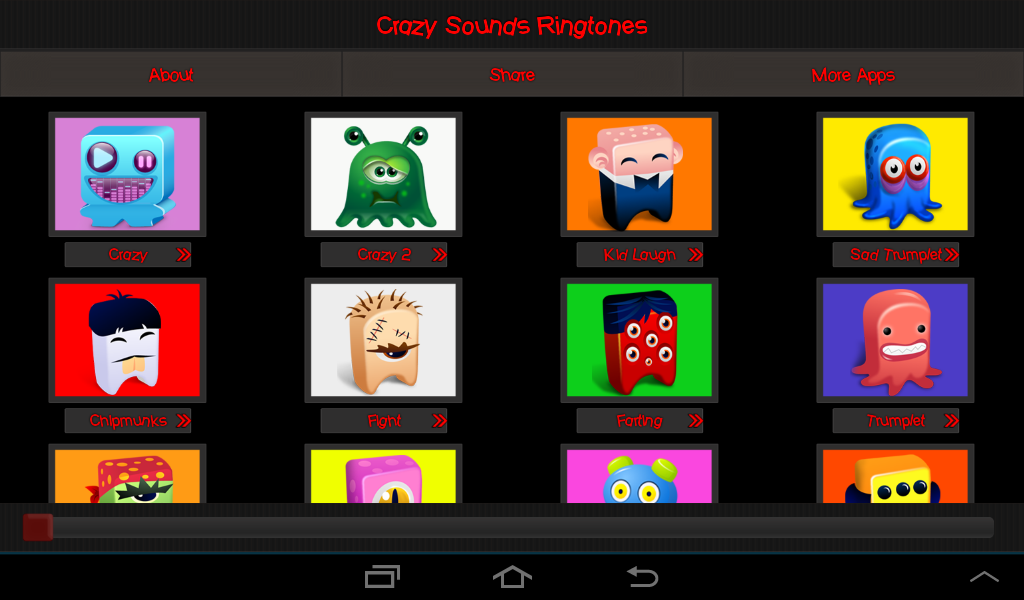 Crazy Sounds & Ringtones - screenshot