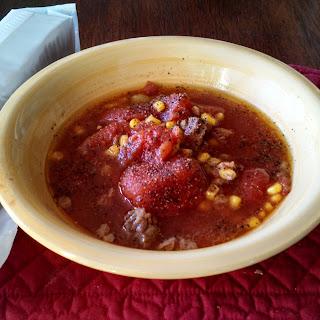 Crock-Pot Vegetable Beef Soup.