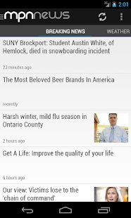 Messenger Post News - screenshot thumbnail