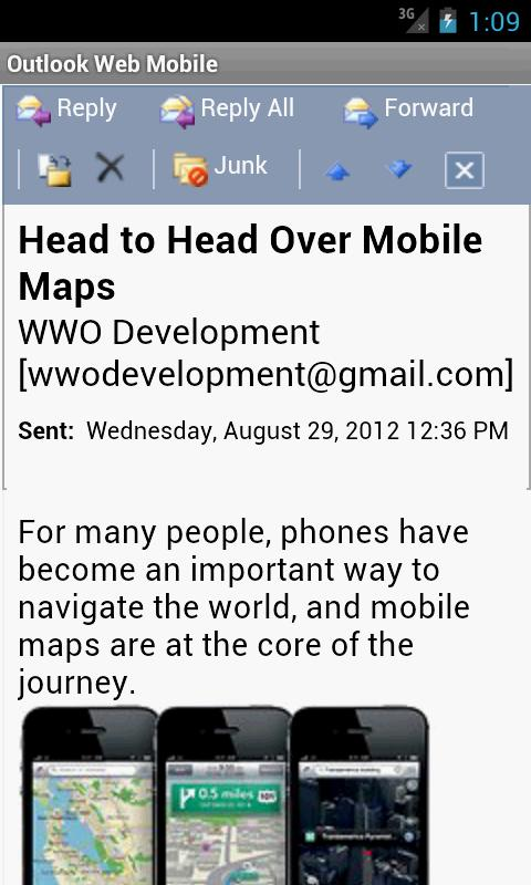 OWM for Outlook Email OWA - Android Apps on Google Play